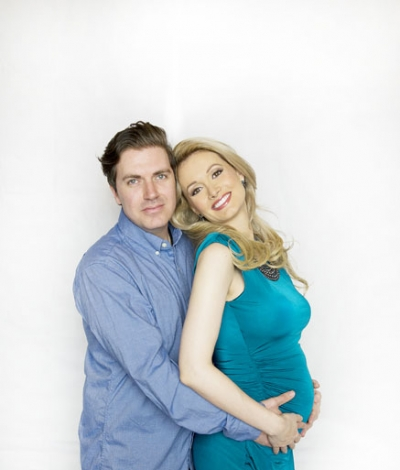 Pasquale Rotella and Holly Madison